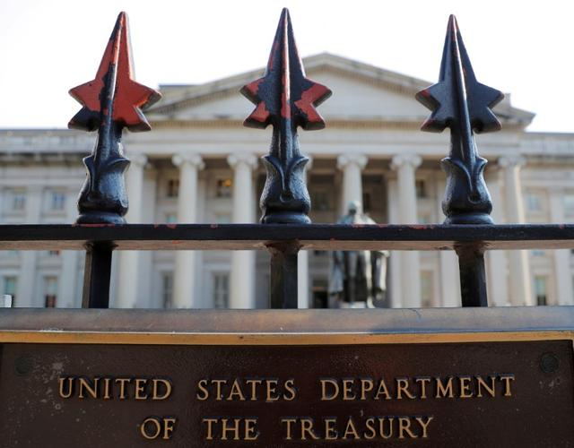 U.S. government posts $13.3 billion deficit in December