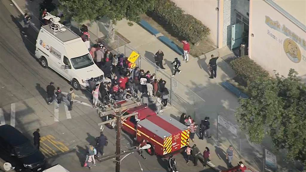 More than 50 injured after Delta jet dumps fuel on L.A. schools during midair emergency