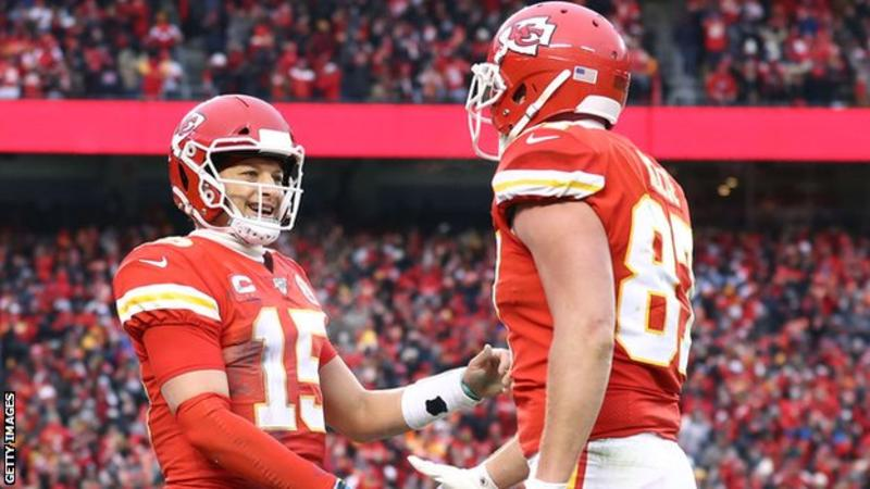 NFL play-offs: Kansas City Chiefs beat Houston Texans after coming back from 24-0 down